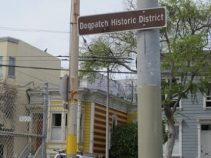 Dogpatch Historic Sign