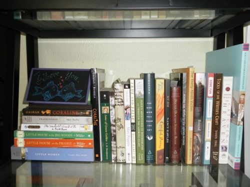 Little Novelist Shelf