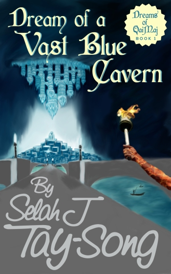 Dream of a Vast Blue Cavern by Selah J Tay-Song